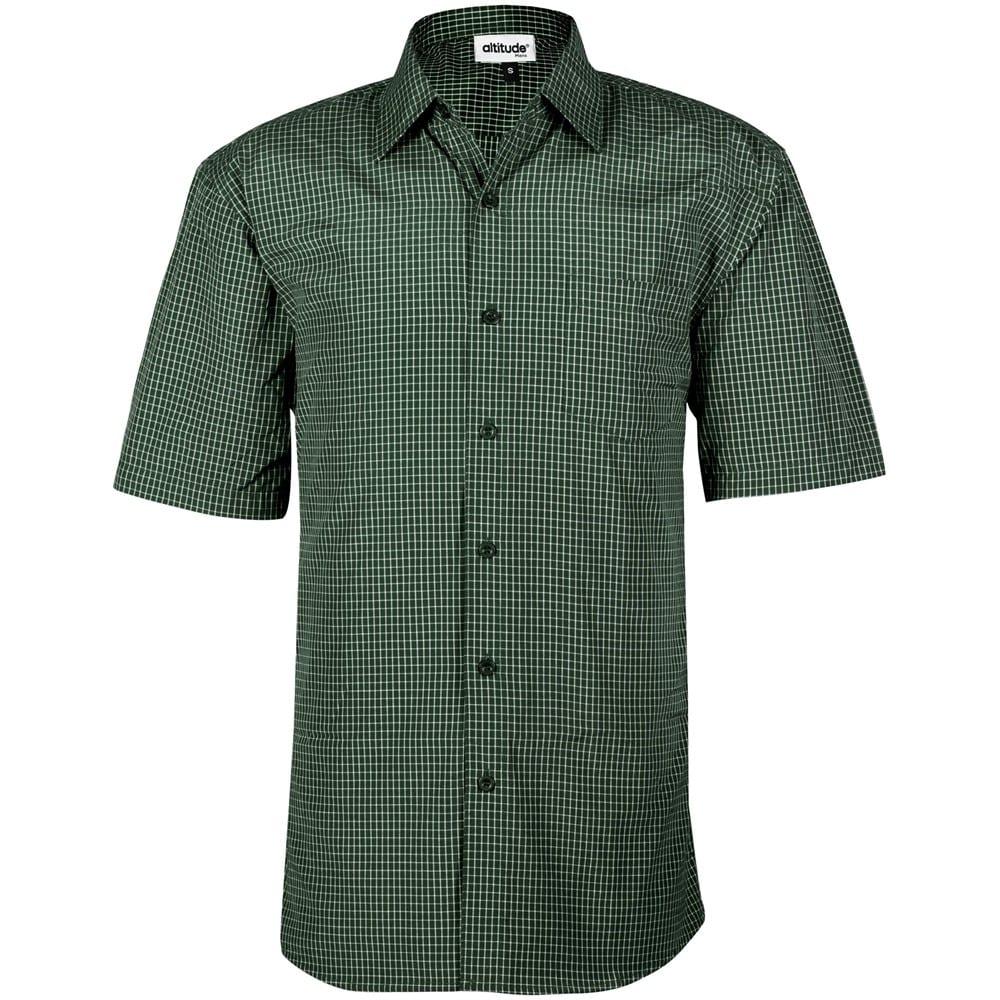 Mens Short Sleeve Cedar Shirt - M, Green