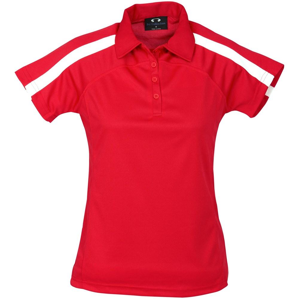 Ladies Monte Carlo Golf Shirt - 4XL, Black